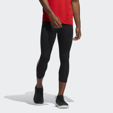 Tight 3/4 Techfit 3-Stripes Nero Uomo Fitness & Training