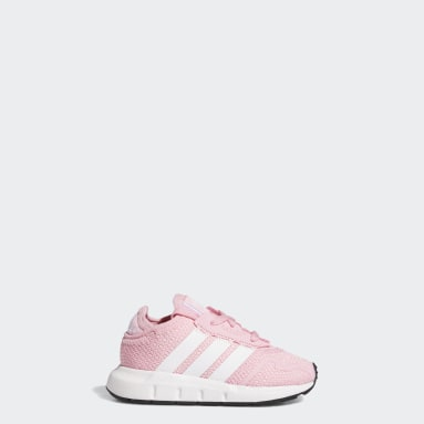 Chaussure Swift Run X Rose Enfants Originals