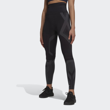Dames Fitness En Training Zwart Formotion Sculpt Two-Tone Legging
