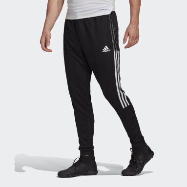 Men Football Black Tiro 21 Tracksuit Bottoms