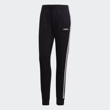 Pantalon Essentials 3-Stripes Noir Femmes Sportswear