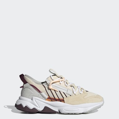 Women Originals Beige OZWEEGO Zip Shoes