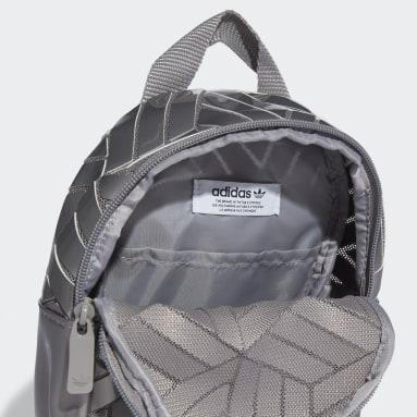 Women Originals Grey Mini 3D Backpack
