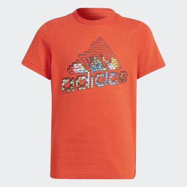 Boys Lifestyle Red adidas x LEGO® Graphic Tee