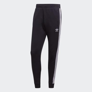 Men Originals Black 3-Stripes Pants