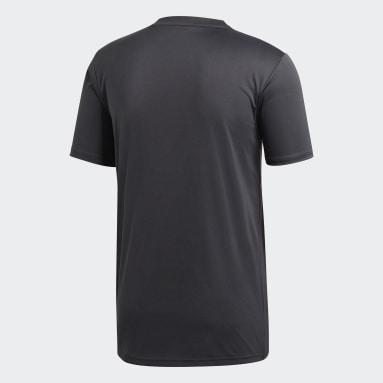 Camiseta Campeon 19 Gris Hombre Gimnasio Y Entrenamiento