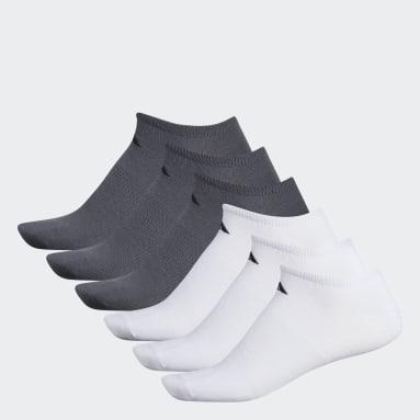 Men's Training White Superlite Ankle Socks 6 Pairs