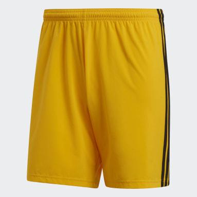 Men Football Yellow Condivo 18 Shorts