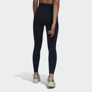 Women Training Blue Formotion Sculpt Two-Tone Tights