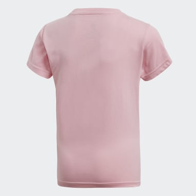 Girls Originals Rosa Trefoil Tee