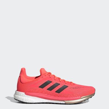 ผู้ชาย วิ่ง สีชมพู รองเท้า SolarGlide 3