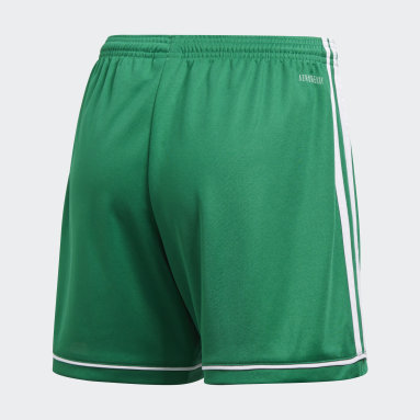 Women's Soccer Green Squadra 17 Shorts