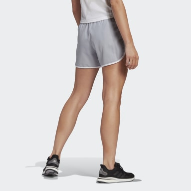 Women's Running Grey Marathon 20 Shorts