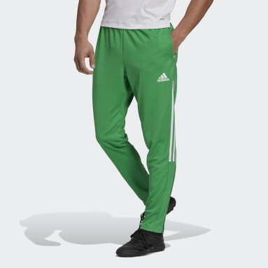 Men Cricket Green Tiro Tracksuit Bottoms