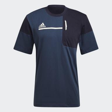 Men Sportswear Blue adidas Sportswear Z.N.E. Tee