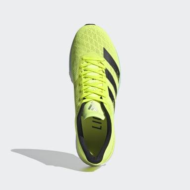 Chaussure Adizero Adios 5 jaune Course