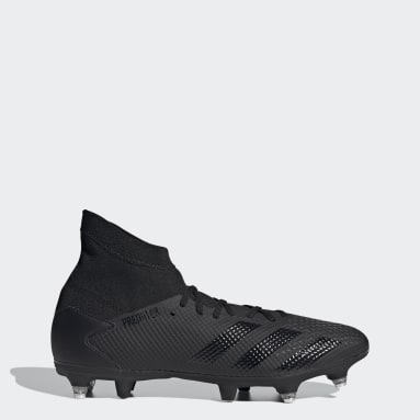 Chaussure Predator 20.3 Terrain gras Noir Football