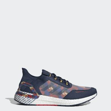 Running Blue Ultraboost 20 City Light Shoes