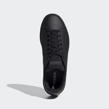 Men Sport Inspired Black Advantage Base Shoes