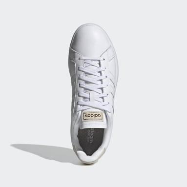 Erkek Sport Inspired Beyaz Grand Court Ayakkabı