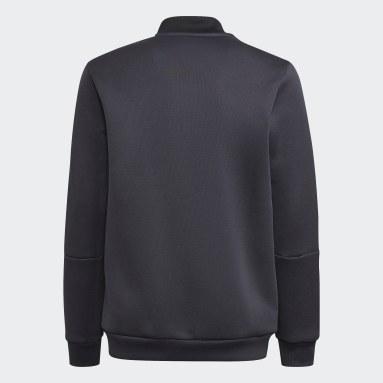 Boys Fotboll Grå Juventus Tiro Anthem Jacket