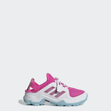 Children TERREX Pink Terrex Hydroterra Shandal Water Shoes