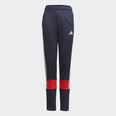 Youth 8-16 Years Gym & Training Blue 3-Stripes AEROREADY Primeblue Joggers