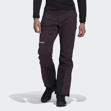 Men TERREX Purple Terrex Ski-Touring Soft Shell Joggers