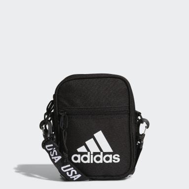 Volleyball Black USA Volleyball Festival Crossbody Bag