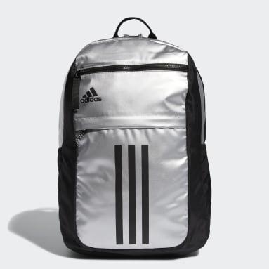 Training Grey League 3-Stripes Backpack