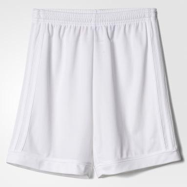 Pantalón corto Squadra 17 Blanco Niño Fútbol