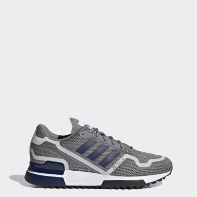 Men Originals Grey ZX 750 HD Shoes