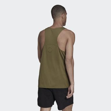 Men's Running Green Made To Be Remade Running Singlet