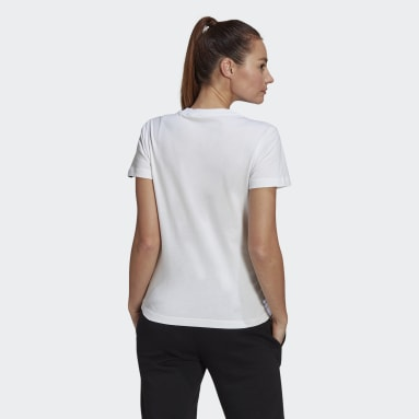 Remera Estampada Floral Blanco Mujer Essentials