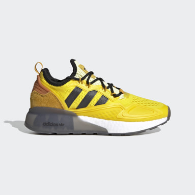 Zapatillas ZX 2K Boost Ninja (UNISEX) Amarillo Niño Originals