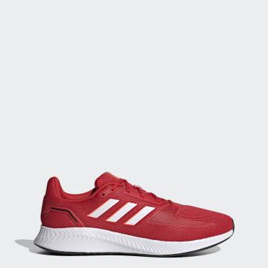 Tenis Runfalcon 2.0 Rojo Hombre Running