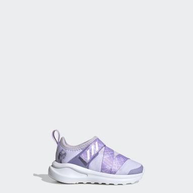 Infants Training Purple Frozen FortaRun X Shoes