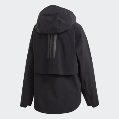 Dam City Outdoor Svart MYSHELTER Rain Jacket