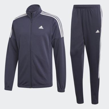 Heren Sportswear Blauw Team Sports Trainingspak