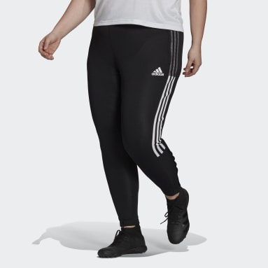 Women's Soccer Black Tiro Track Pants (Plus Size)