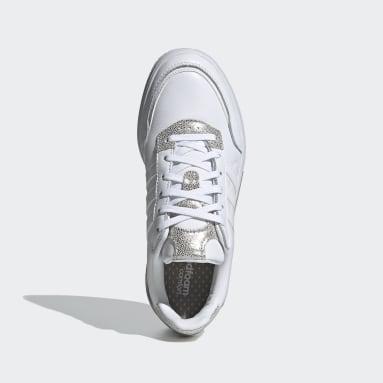 Women Tennis White Courtmaster Shoes