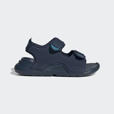 Infants ว่ายน้ำ สีน้ำเงิน รองเท้าแตะริมสระ