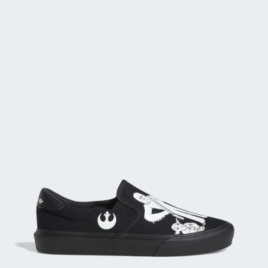 Originals Black Court Rallye Slip x Star Wars Shoes