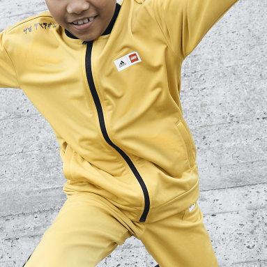 Děti Cvičení A Trénink žlutá Souprava adidas x LEGO® NINJAGO®