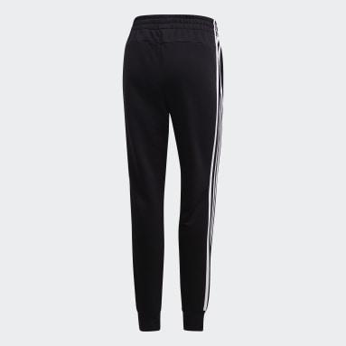 Frauen Sportswear Essentials 3-Streifen Hose Schwarz