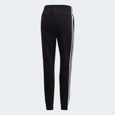 Women Sportswear Black Essentials 3-Stripes Joggers