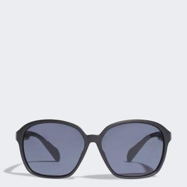 Running Black SP0013 Shiny Black Injected Sport Sunglasses