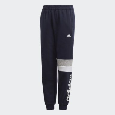 Pants Linear Colorblock Azul Niño Training