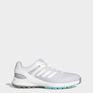 Women Golf White EQT Spikeless Golf Shoes