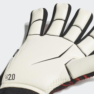 Soccer Black Predator 20 Pro Fingersave Gloves